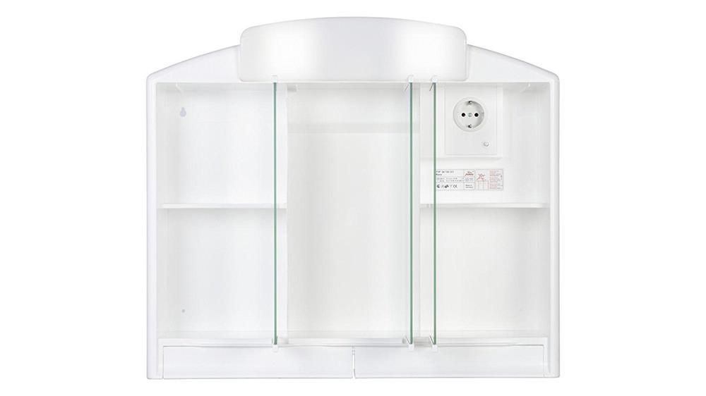 spiegelschrank rano wei badschrank badm bel badspiegel spiegel bad schrank ebay. Black Bedroom Furniture Sets. Home Design Ideas