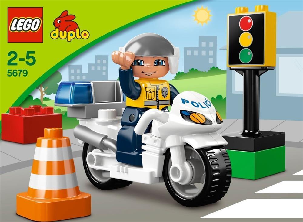 Lego duplo motorradpolizist spielzeug monate