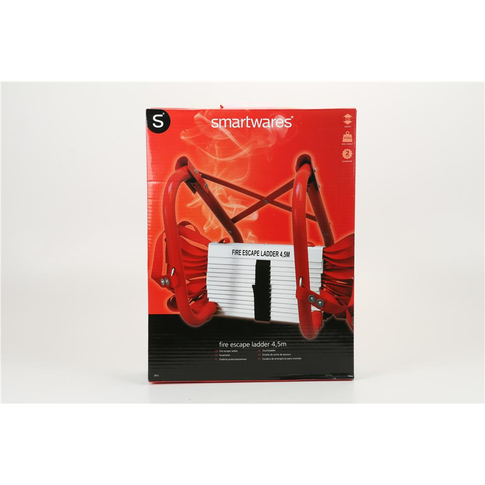 feuerleiter 4 5 m mit universal aufh nger fluchtleiter h ngeleiter vormontiert ebay. Black Bedroom Furniture Sets. Home Design Ideas