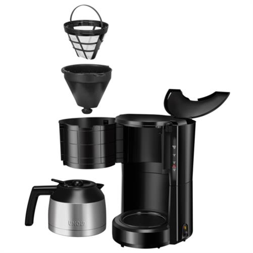 unold kaffeeautomat compact thermo filter kaffeemaschine. Black Bedroom Furniture Sets. Home Design Ideas