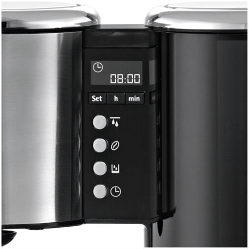 wmf lineo filterkaffeemaschine mit thermoskanne timer edelstahl 0412070011. Black Bedroom Furniture Sets. Home Design Ideas
