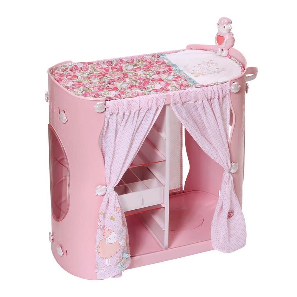 zapf creation 794111 2 in 1 schrank wickeltisch baby annabell zubeh r ab 3j eur 61 08. Black Bedroom Furniture Sets. Home Design Ideas