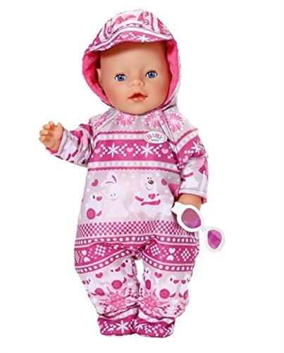 zapf creation 821381 baby born deluxe schnee set puppe kleidung schneeanzug ebay. Black Bedroom Furniture Sets. Home Design Ideas