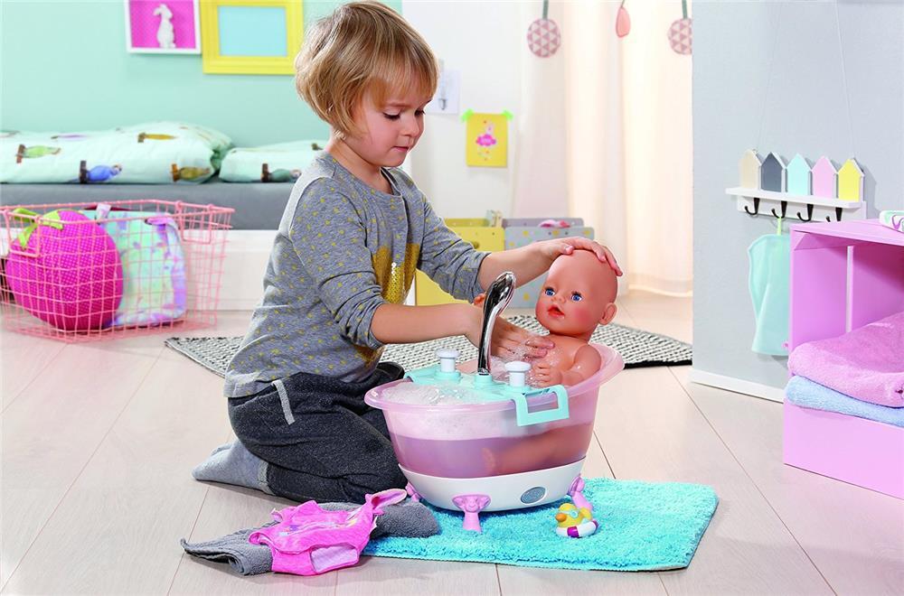 Baby Born Badewanne Mit Duschbrause : Zapf Creation 822258 - Baby born Interactive Badewanne ...