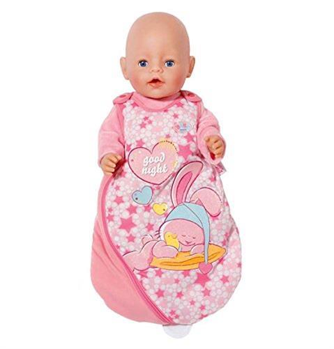 zapf creation 822616 baby born schlafsack rosa mit. Black Bedroom Furniture Sets. Home Design Ideas